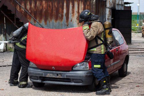 curso de Investigación de Incendios en Vehículos