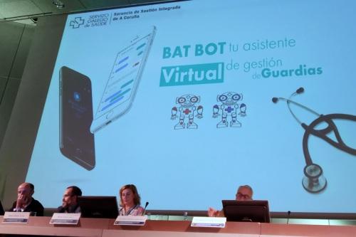 Chatbot Chocolate presenta a Bat Bot, el primer chatbot de gestión de guardias hospitalarias