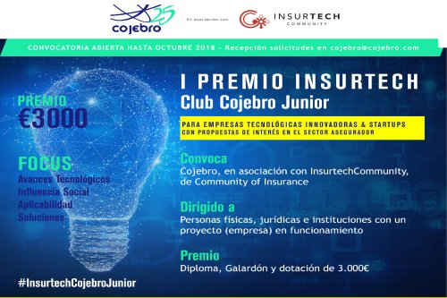 Premio Insurtech Club Cojebro Junior