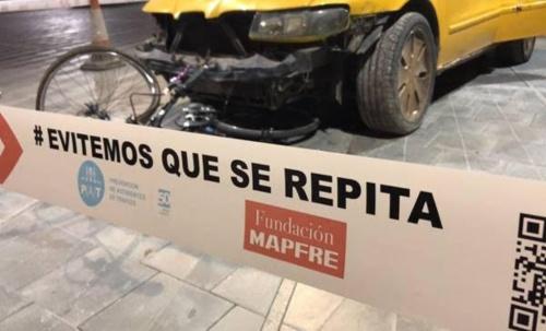 Fundación Mapfre muestra los resultados de las imprudencias al volante