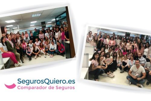 SegurosQuiero.es apoya la lucha contra el cáncer de mama