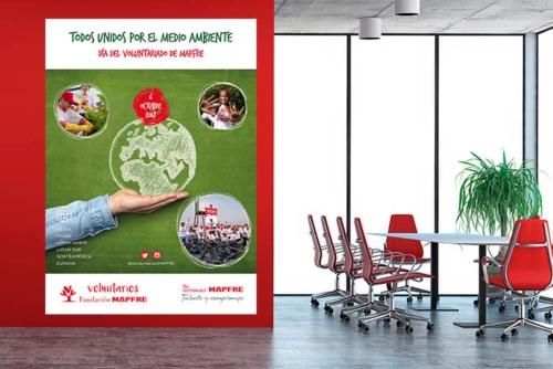Mapfre celebra la segunda edición del día del voluntariado