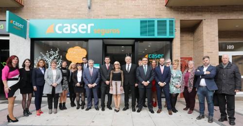 Caser inaugura agencia exclusiva en Pamplona