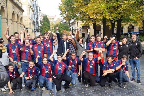 SD Eibar presenta su equipo de fútbol inclusivo