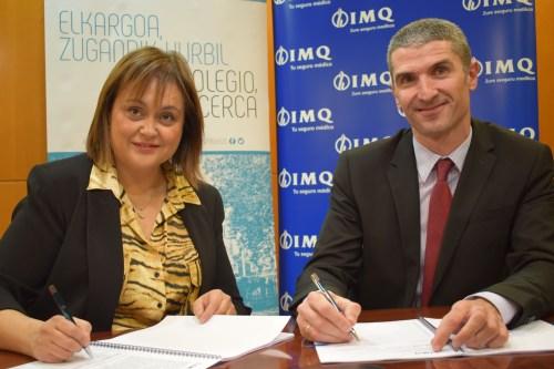 El Colegio de Médicos de Guipúzcoa acaba de firmar un acuerdo con IMQ