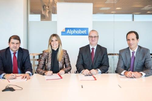 Seguros Bilbao y Alphabet renuevan su colaboración hasta 2021