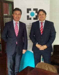 El Colegio de Asturias y Caser renuevan su colaboración