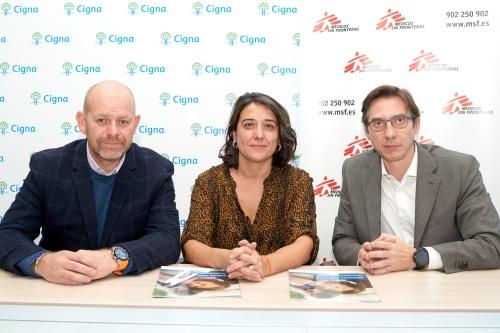 Cigna apoya a Médicos sin Fronteras