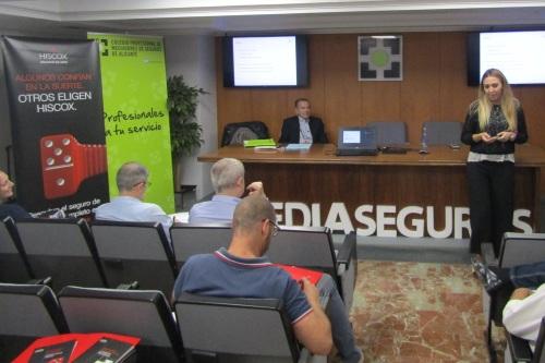 Hiscox analiza la actualidad del sector con los mediadores de Alicante