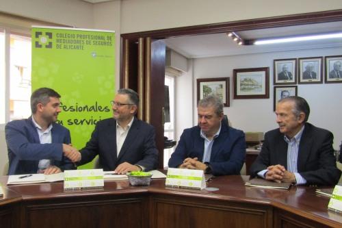 El Colegio de Alicante renueva su acuerdo con Sanitas