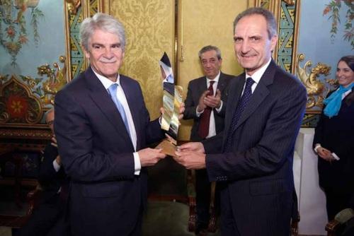 Luigi Lana, presidente de Reale Group, recibe el Premio Tiepolo 2018