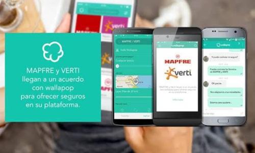 Mapfre y Verti firman un acuerdo con Wallapop