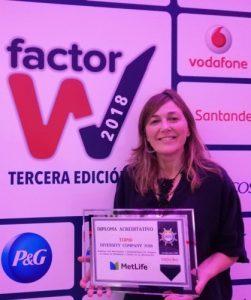 MetLife galardonada en la VI Edición de los Premios Intrama