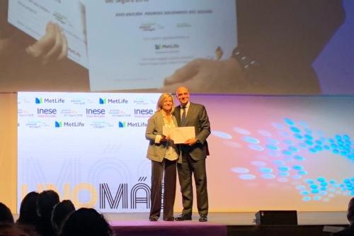 Fundación Pascual Maragall recibe el Premio solidario del Seguro