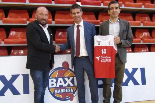 Catalana Occidente renueva su patrocinio con el Bàsquet Manresa