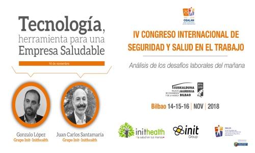 IV Congreso Internacional de Seguridad y Salud en el Trabajo de Osalan