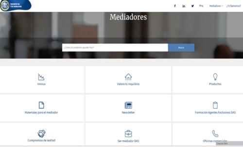 web para mediadores