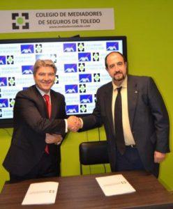 Axa y el Colegio de Mediadores de Seguros de Toledo renuevan su colaboración