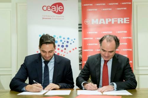 Mapfre se alía con la Confederación Española de Jóvenes Empresarios