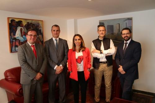 Previsora General visita el Colegio de Mediadores de Valencia
