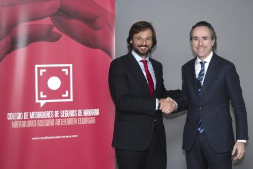 El Colegio de Navarra y Acunsa renuevan su colaboración