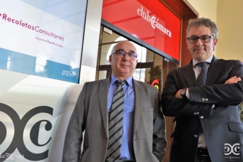 La delegación en Zaragoza de Recoletos Consultores se incorpora al Club Cámara Empresa Red