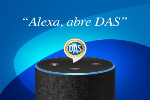 Alexa, abre Das