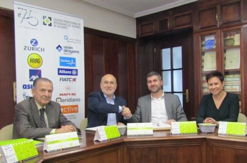 Salus se suma al elenco de colaboradores del Colegio de Alicante