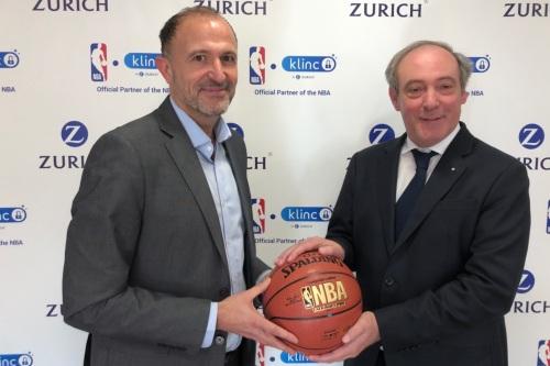 Zurich, partner oficial de la NBA en España