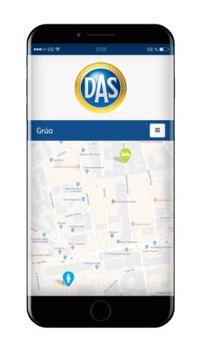 Das presenta una nueva app de Asistencia en Carretera
