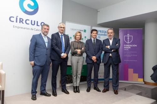Fundación Inade analiza la gestión del riesgo en Galicia-Norte de Portugal.