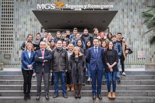 Fundación MGS implica a los jóvenes en el sector asegurador