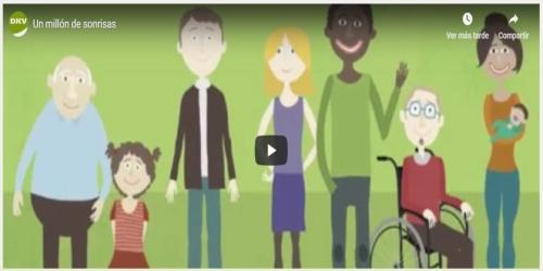 DKV globaliza Un millón de sonrisas