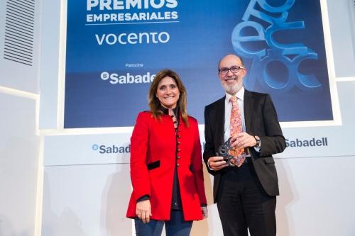 Pelayo: Premio Empresarial Vocento en RSC