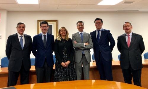 La DGSFP recibe a la nueva Comisión Permanente del Consejo General
