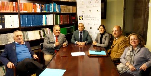 Los Colegios de Mediadores de Seguros de Córdoba, Huelva y Sevilla firman un nuevo convenio con Arag