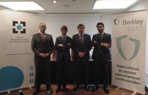 Berkley y el Colegio de Mediadores de Asturias fortalecen su relación