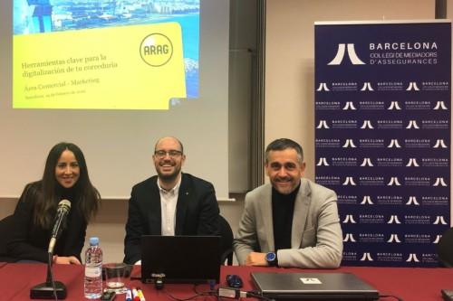 Los mediadores de Barcelona se digitalizan con Arag