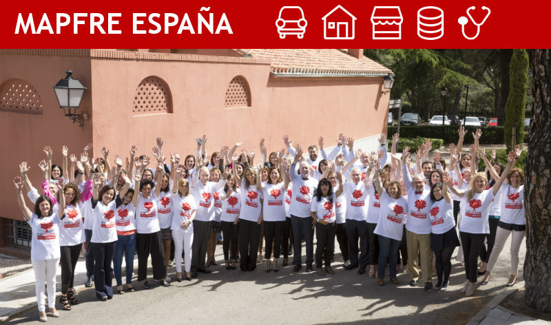 Voluntarios de Mapfre