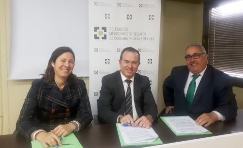SOS Seguros firma un acuerdo con los Colegios andaluces
