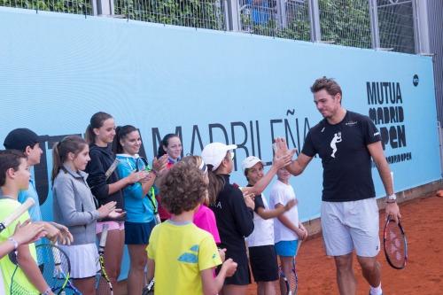 Mutua Madrileña pone en marcha el torneo de tenis Soy de la Mutua, soy ganador