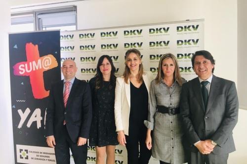 El Colegio de Zaragoza y DKV realizan las primeras jornadas formativas para jóvenes mediadores