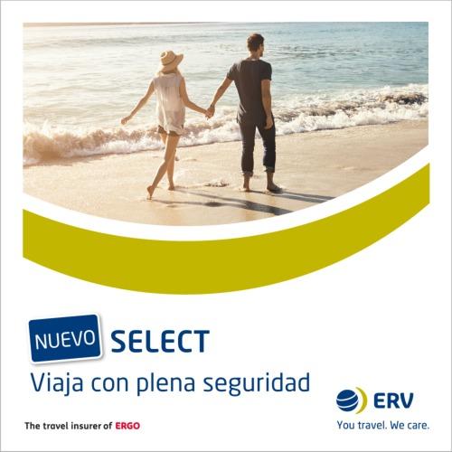 ERV relanza su seguro vacacional Select