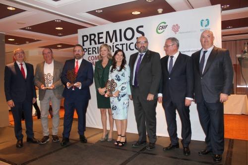 Uniteco premia a los periodistas valencianos