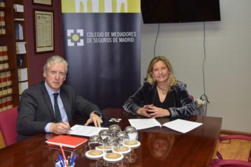 El Colegio de Madrid y Mapfre reafirman su colaboración