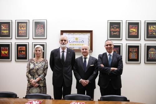 Fundación Aon y la Universidad de Comillas crean la Cátedra de Catástrofes