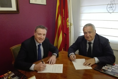 El Colegio de Zaragoza y Teruel renueva con Surne