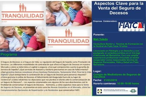 El Colegio de Guipúzcoa prepara a sus mediadores para la venta del seguro de decesos