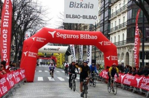 Seguros Bilbao patrocina Marcha Cicloturista Internacional Bilbao-Bilbao