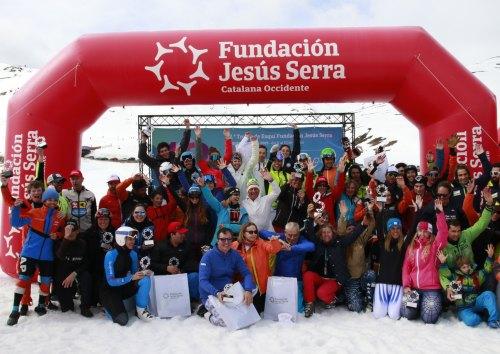 Fundación Jesús Serra bate récords en su XII Trofeo de Esquí en Baqueira